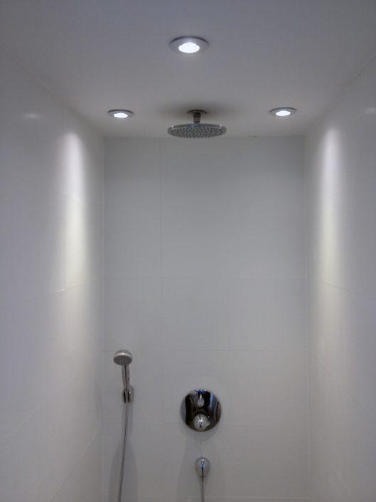Beleuchtung Dusche